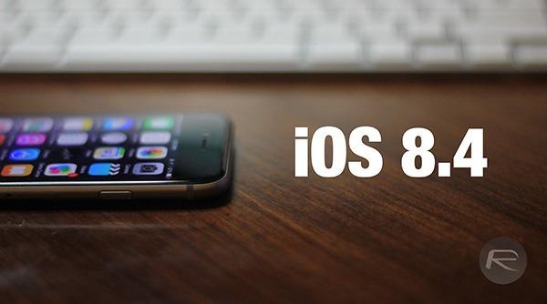آپدیت iOS 8.4