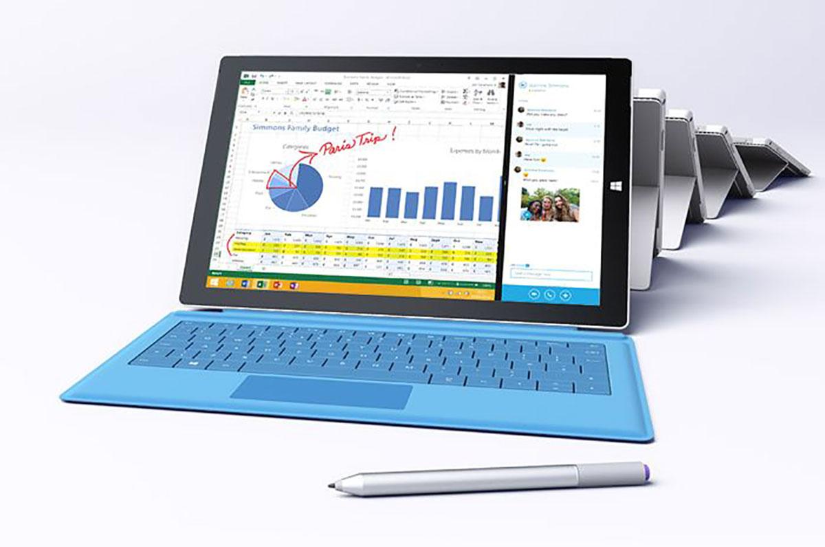 مایکروسافت سرفیس ۳ ارزان تری با پردازشگر Core i7 رونمایی کرد
