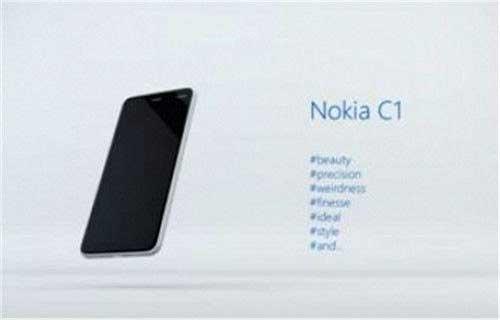 بخشی از مشخصاتفنی نوکیا سی ۱ (Nokia C1) منتشر شد