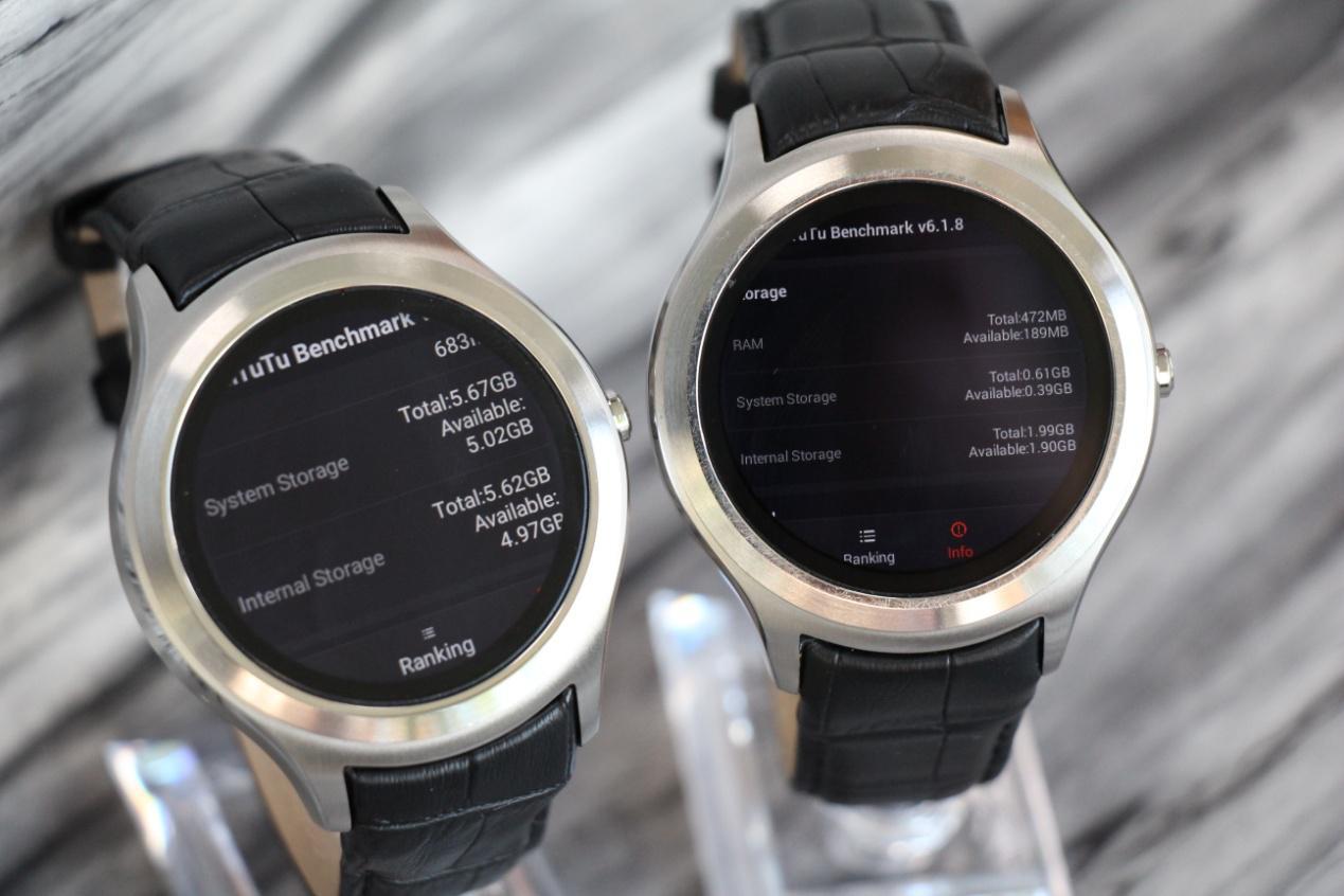 ساعت هوشمند نامبروان D5+: گرد و زیبا
