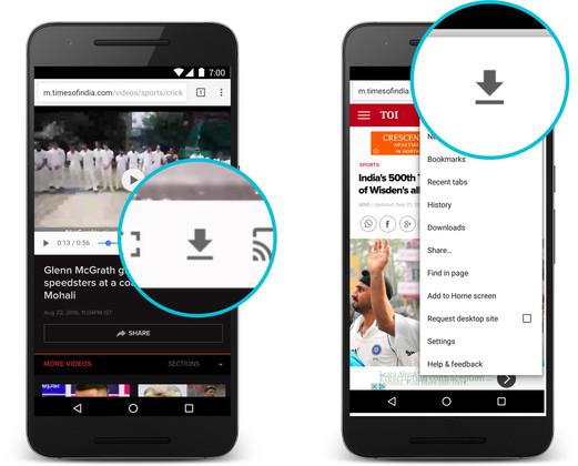 تکنولوژی فشردهسازی دانلود ویدئوها به آپدیت جدید مرورگر کروم در اندروید اضافه خواهد شد