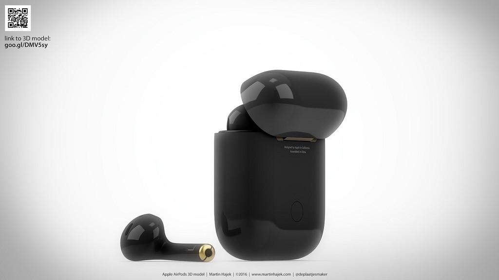 چرا برای اپل AirPod رنگ Jet Black در نظر گرفته نشده است؟ طرحهای مفهومی از آن را ببینید!