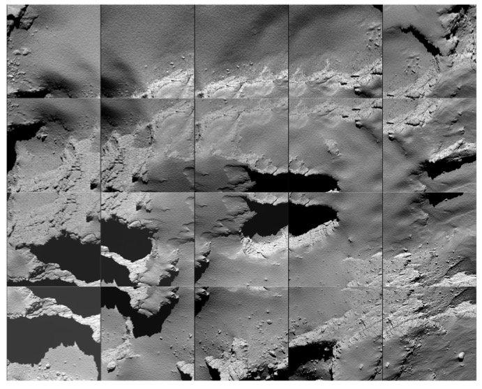 خداحافظی با رزتا: پایان جذاب مأموریت رزتا با سقوط روی سطح دنبالهدار