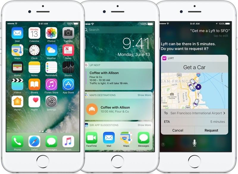 هماکنون iOS 10 بر روی نیمی از دستگاهها نصب شده است