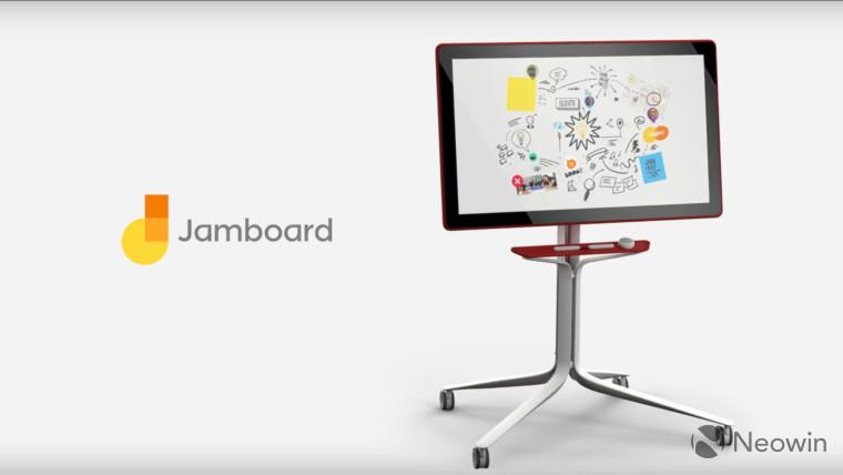 گوگل Jamboard رقیب سرفیس هاب مایکروسافت معرفی شد