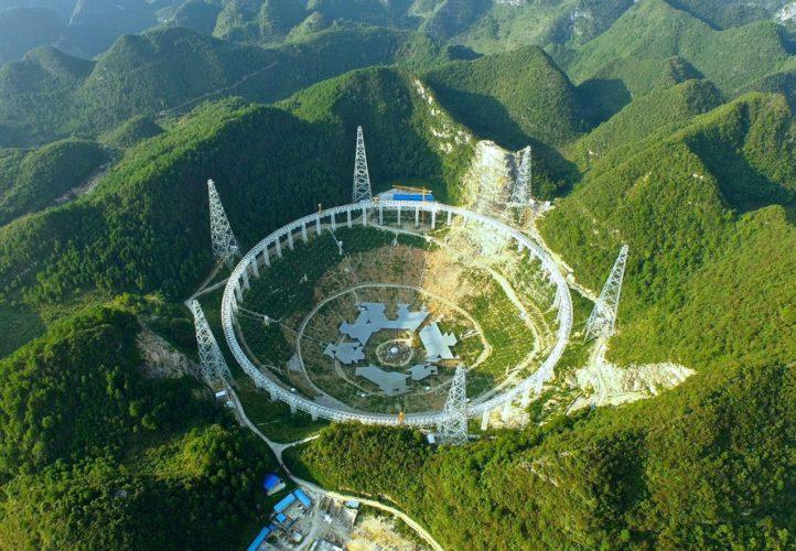 تلسکوپ عظیم FAST چین به جریان بینالمللی جستجوی حیات فرازمینی پیوست