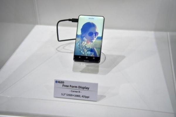 طرح مفهومی و زیبا Sharp Corner R ؛ تلفنی با صفحه نمایش خمیده