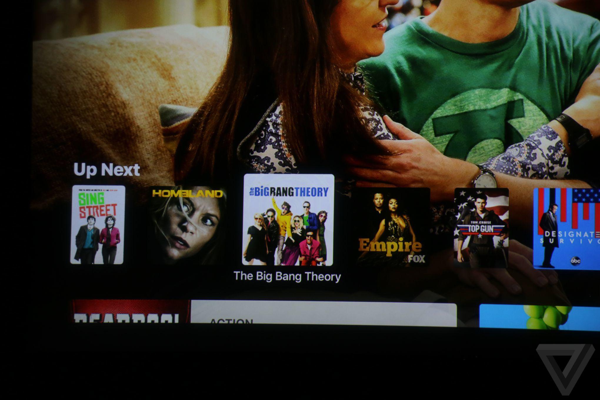 اپل از نرم افزار TV مخصوص اپل تی وی ، آیفون و آیپد رونمایی کرد