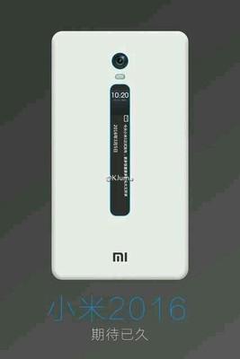 تصاویر Mi 5c را ببینید؛ تیزری مربوط به گوشی جدید شیائومی با صفحه E-ink اعلانات در پشت گوشی