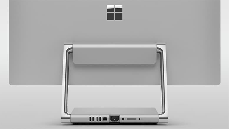 نگاه نزدیک به سرفیس استودیو (Surface Studio)