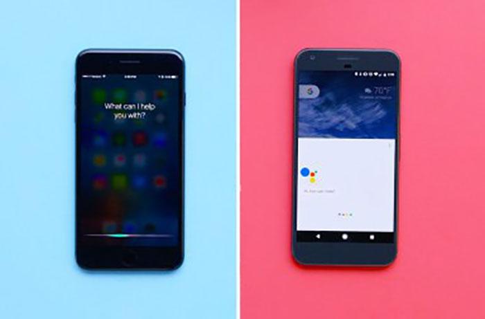 مقایسه عملکرد Google Assistant و Apple Siri