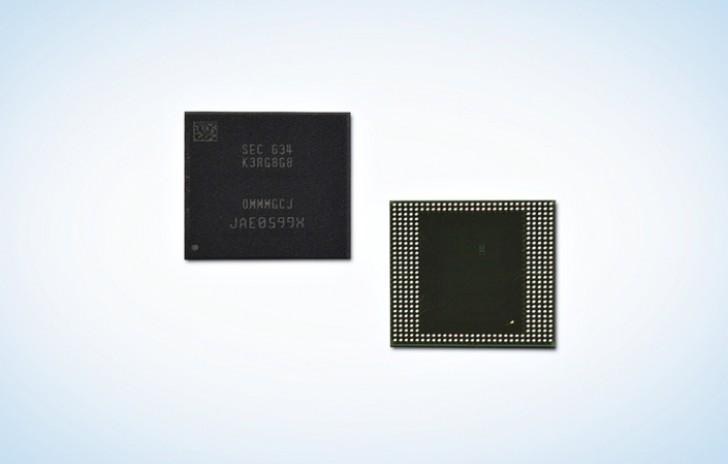 سامسونگ اولین حافظه رم ۸ گیگابایتی LPDDR 4 جهان را معرفی کرد