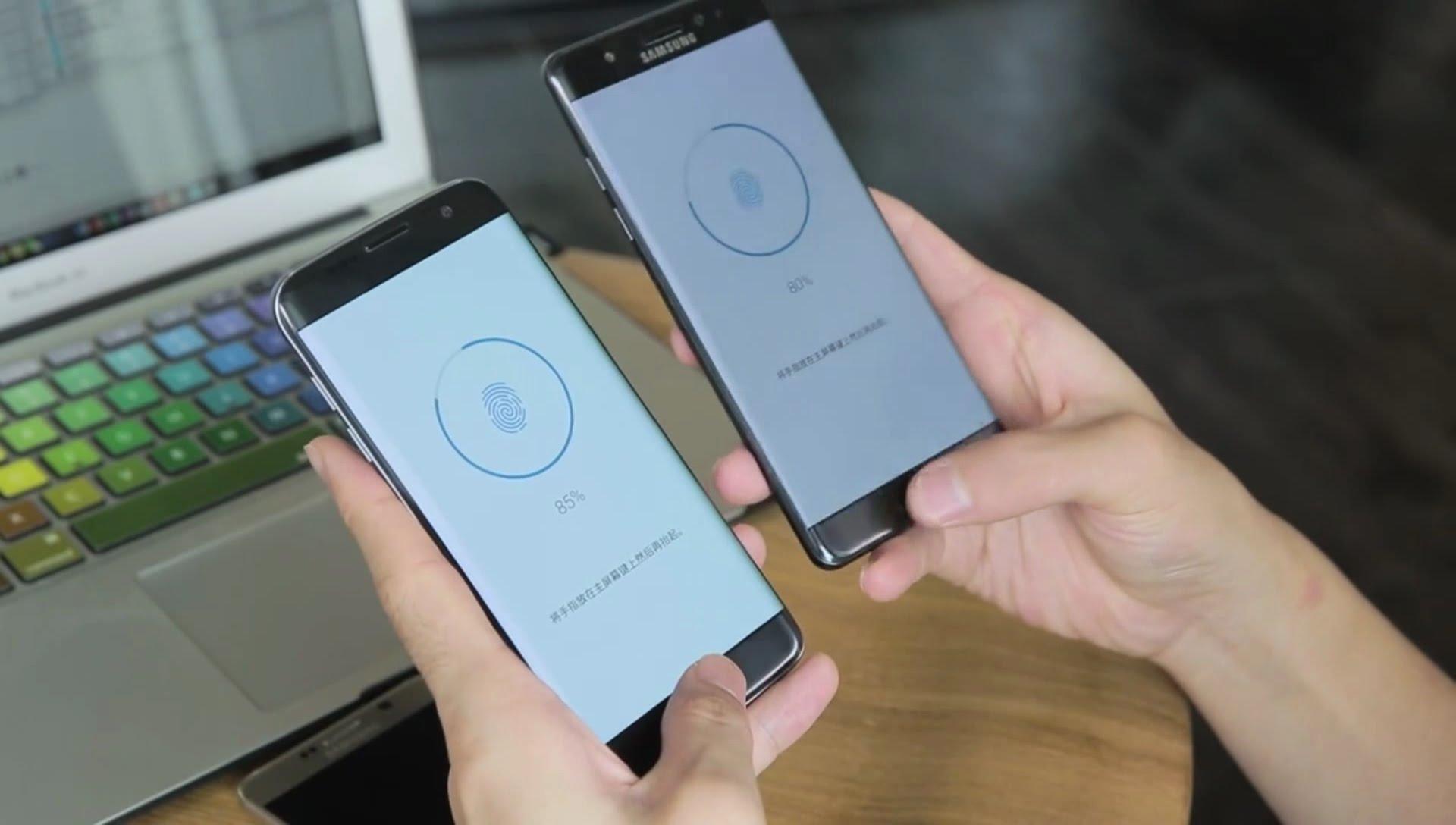 گلکسی اس ۸ اولین موبایل با حسگر اثرانگشت اپتیکال خواهد بود