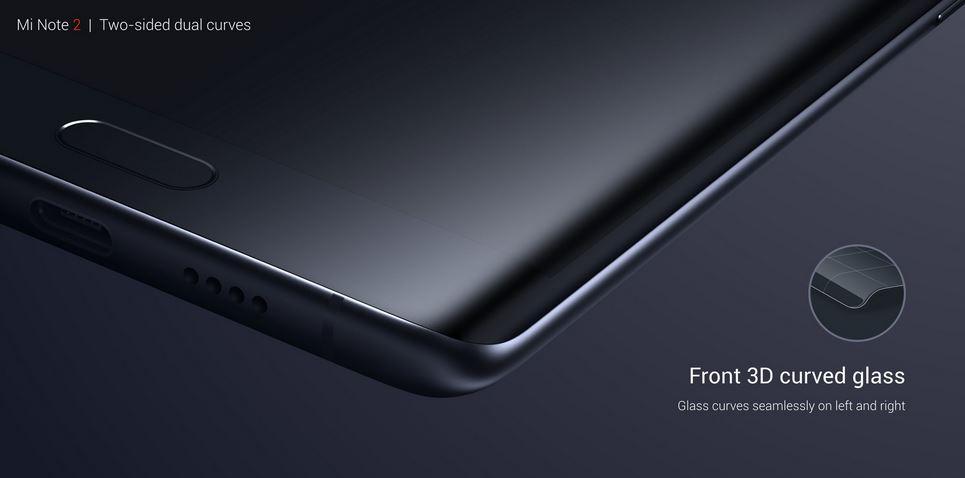 شیائومی می نوت ۲ (Xiaomi mi note 2) رسما معرفی شد: اسنپدراگون ۸۲۱ و ۶ گیگ رم