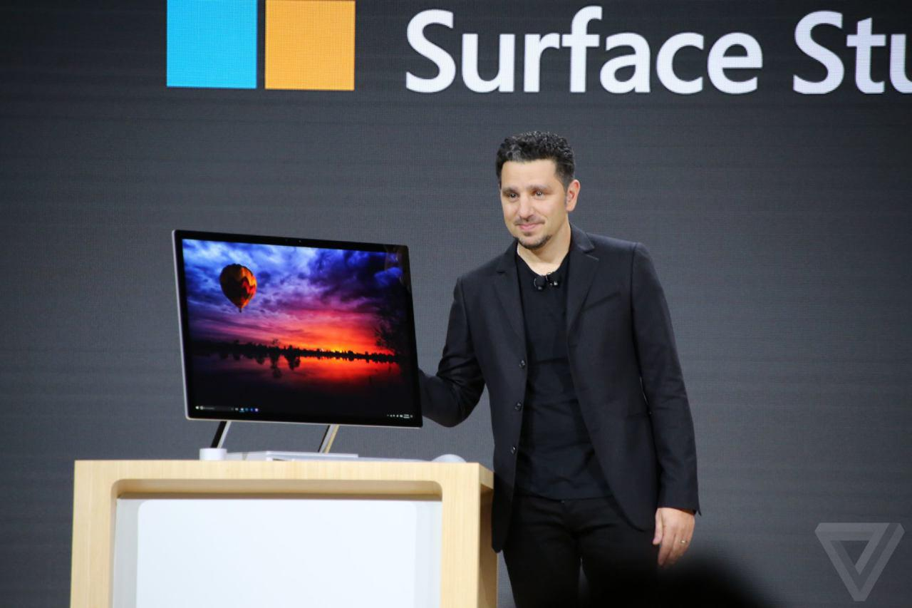 مایکروسافت از Surface Studio رونمایی کرد؛ یک All in One با طعم ویندوز به رقابت با iMAC
