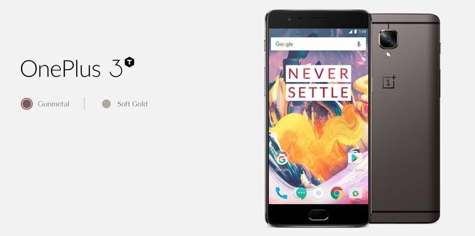 مشخصات فنی OnePlus 3T پیش از رونمایی بر روی سایت رسمی این شرکت قرار گرفت