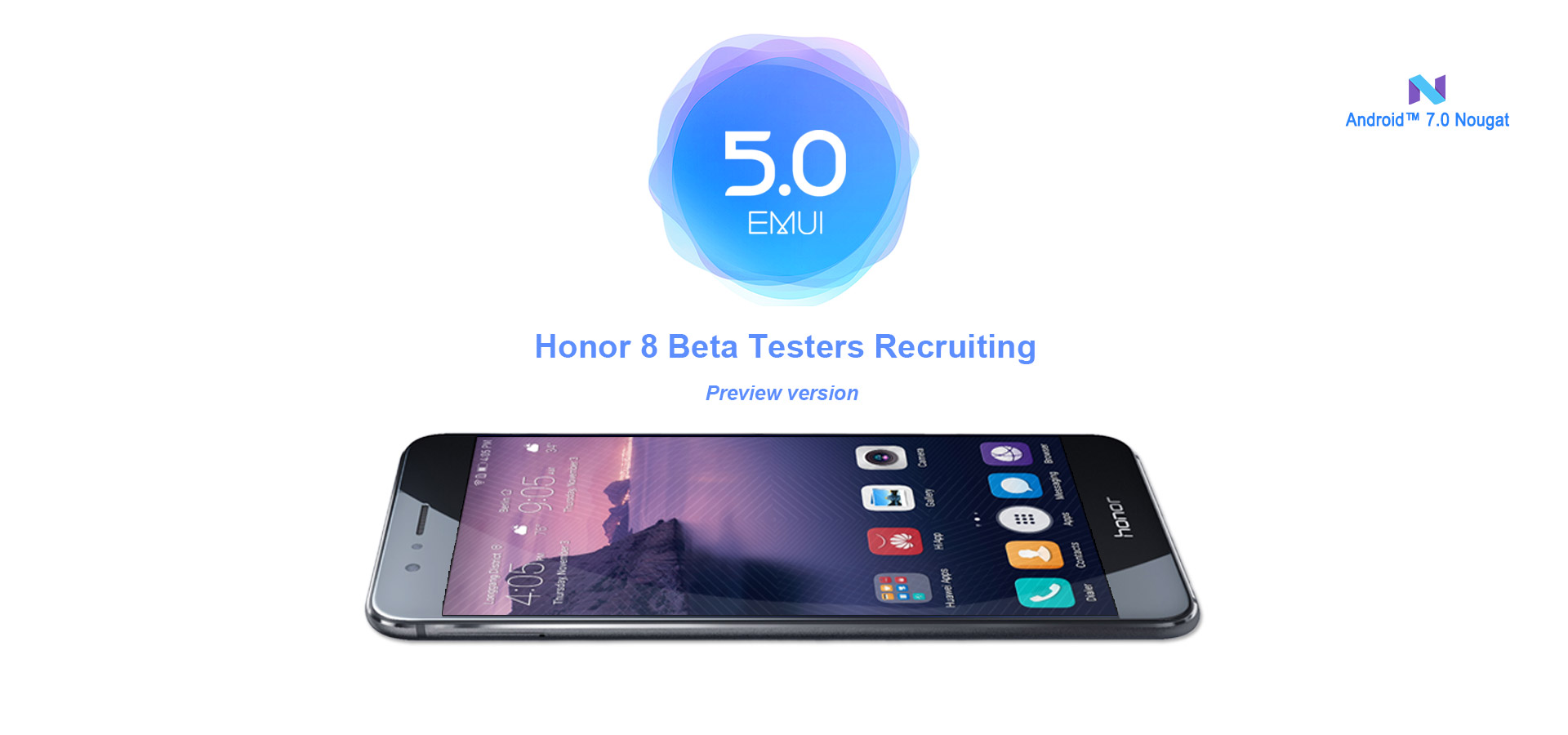 اندروید نوقا بهصورت آزمایشی برای کاربران داوطلب Honor 8 عرضه شد