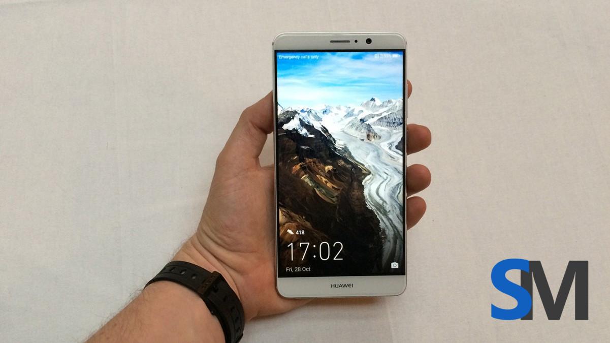 تصاویر لو رفته بیشتر از هواوی میت ۹ (Huawei Mate 9) در رنگ سفید به همراه جعبه