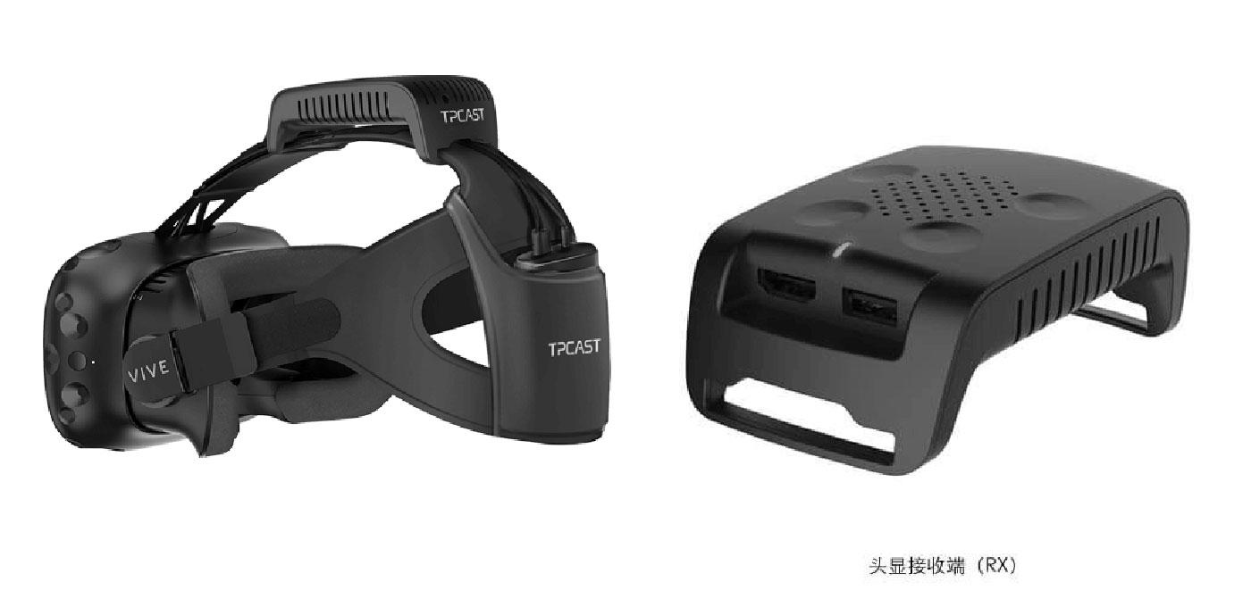 این دستگاه هدست HTC Vive را بی سیم می کند