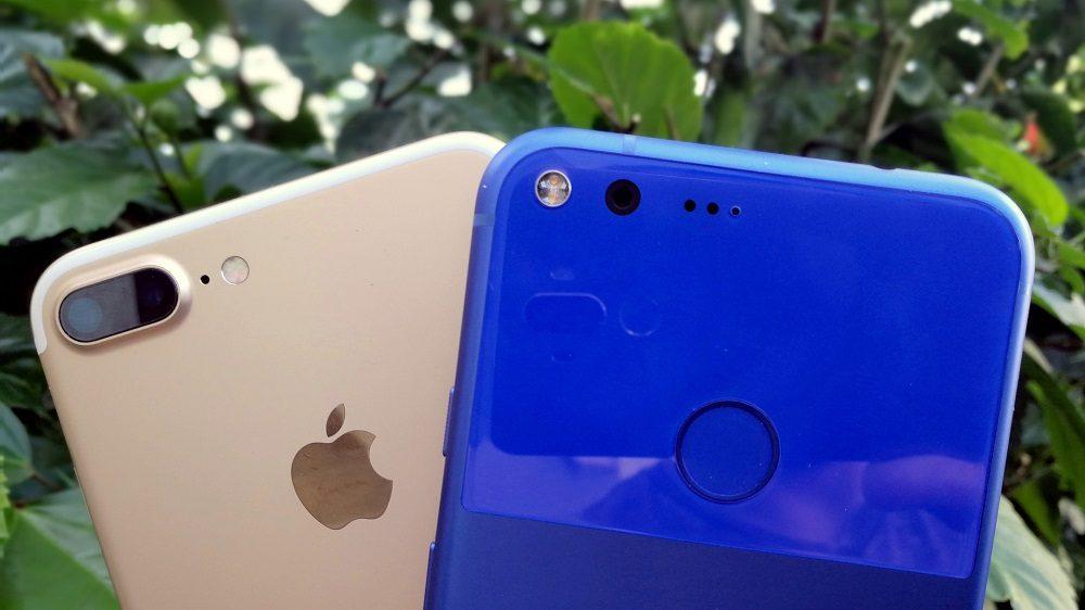 google-pixel-xl-vs-apple-iphone-7-plus-1000×562