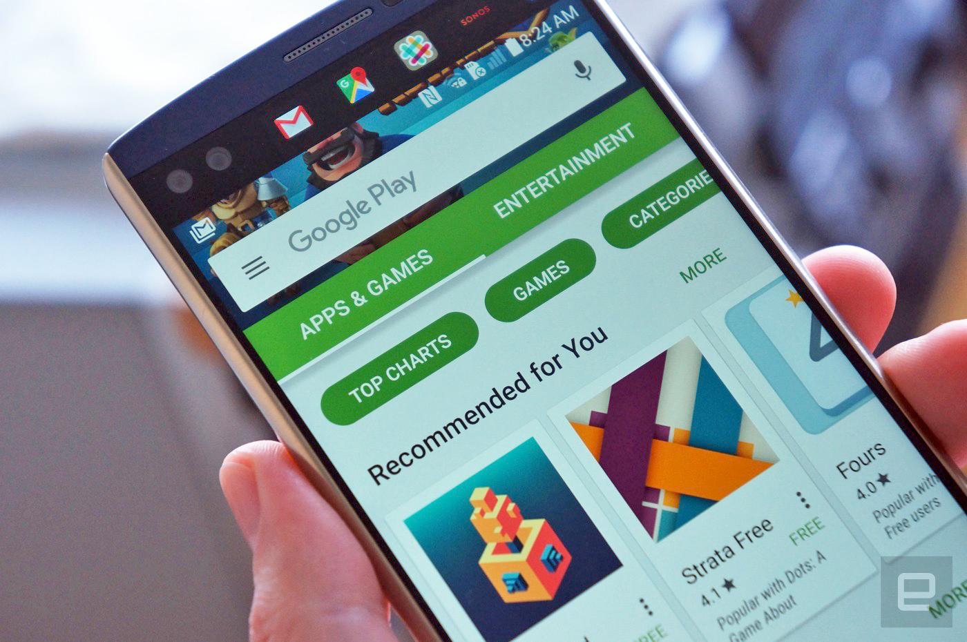 گوگل در حال آزمایش تدابیر جدید امنیتی جهت جلوگیری از تقلب در امتیازدهی به اپلیکیشنهاست