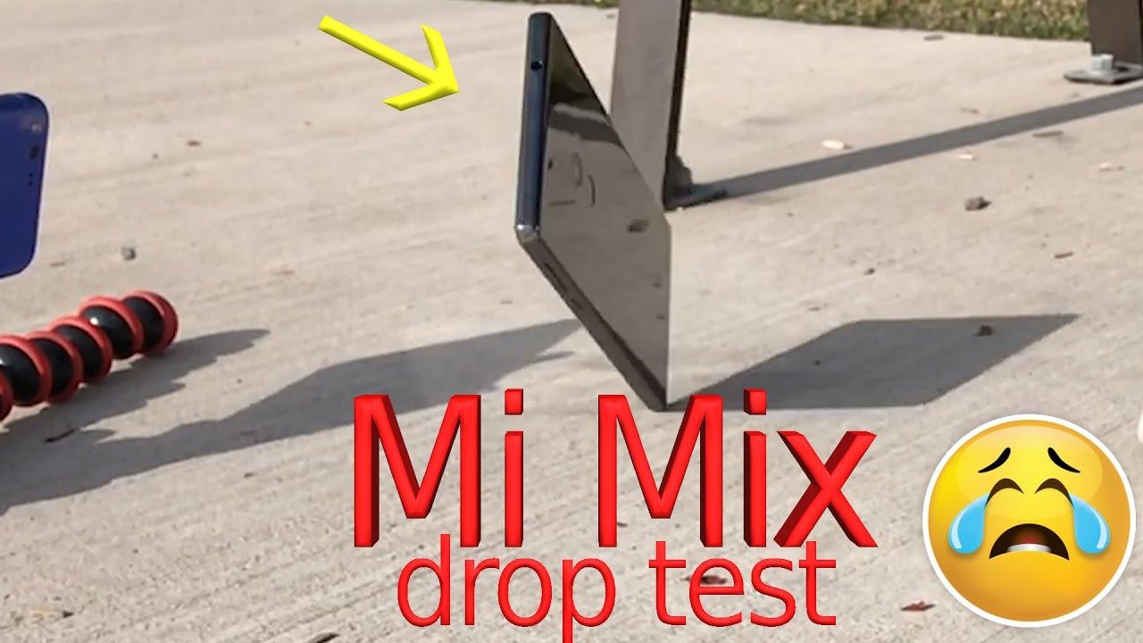 تست سقوط شیائومی می میکس (Mi Mix)