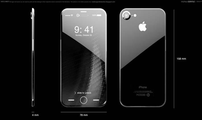 ممکن است آیفون ۸ و گلکسی S8 با صفحهنمایش منحنی OLED رونمایی شوند!