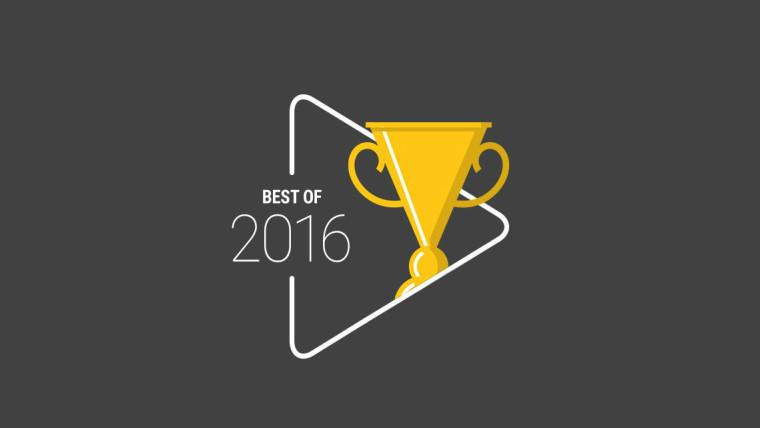 گوگل فهرست بهترینهای ۲۰۱۶ پلی استور را اعلام کرد