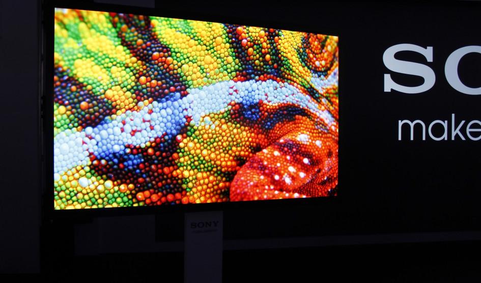 نخستین تلویزیون های OLED سونی سال ۲۰۱۷ از راه می رسند