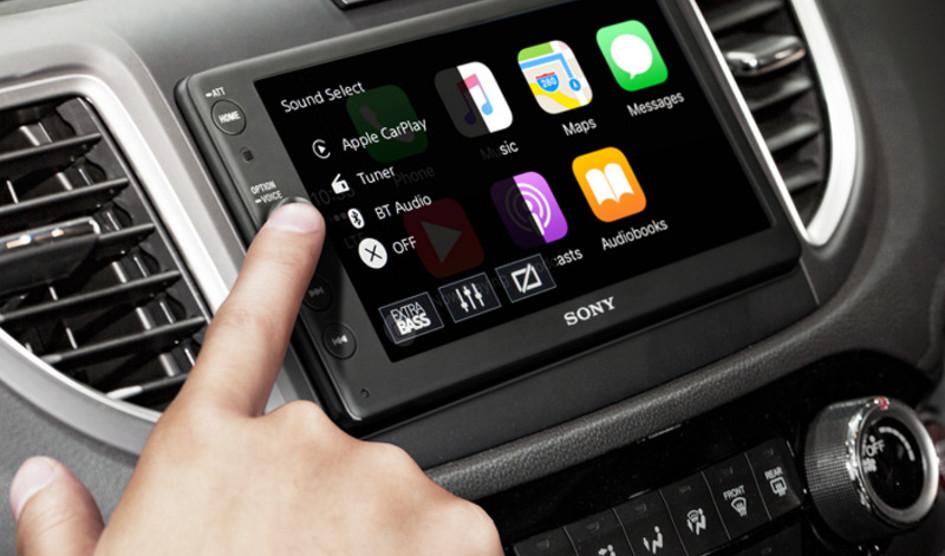 پشتیبانی از اپل CarPlay و Android Auto توسط جدیدترین سیستم سرگرمی خودرو سونی