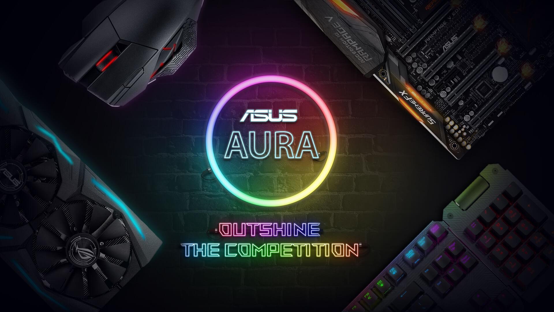 درخشش در رقابت ها با ایسوس AURA Sync