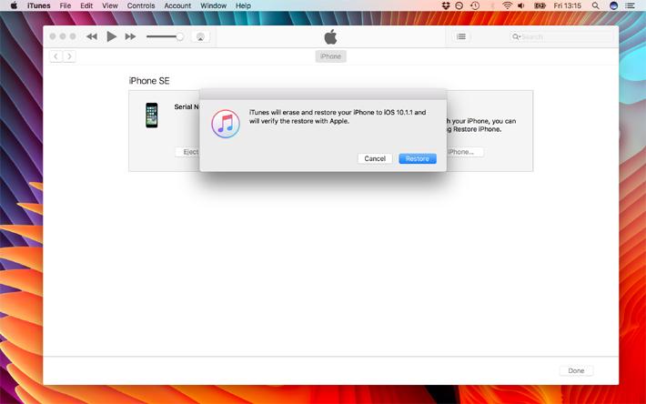 آموزش دانگرید از iOS 10.2 به iOS 10.1.1