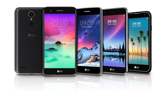 خانواده الجی کا ۲۰۱۷ (LG K 2017) با چهار دستگاه رسما معرفی شد