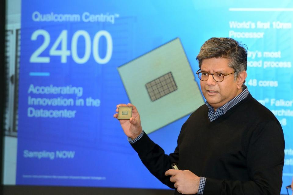 کوالکام، Centriq 2400 را معرفی کرد: اولین پردازندهی سرور ۱۰ نانومتری