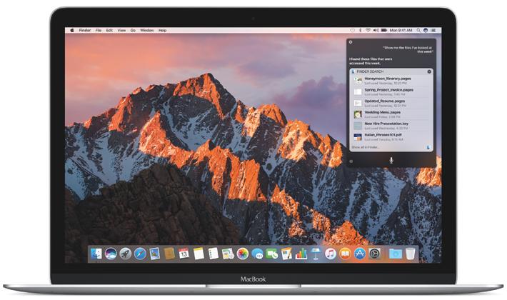 اپل ششمین نسخه بتا از macOS Sierra 10.12.2 را برای توسعه دهندگان منتشر کرد