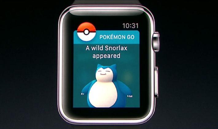 Pokemon GO، در راه نصب بر روی اپل واچ !