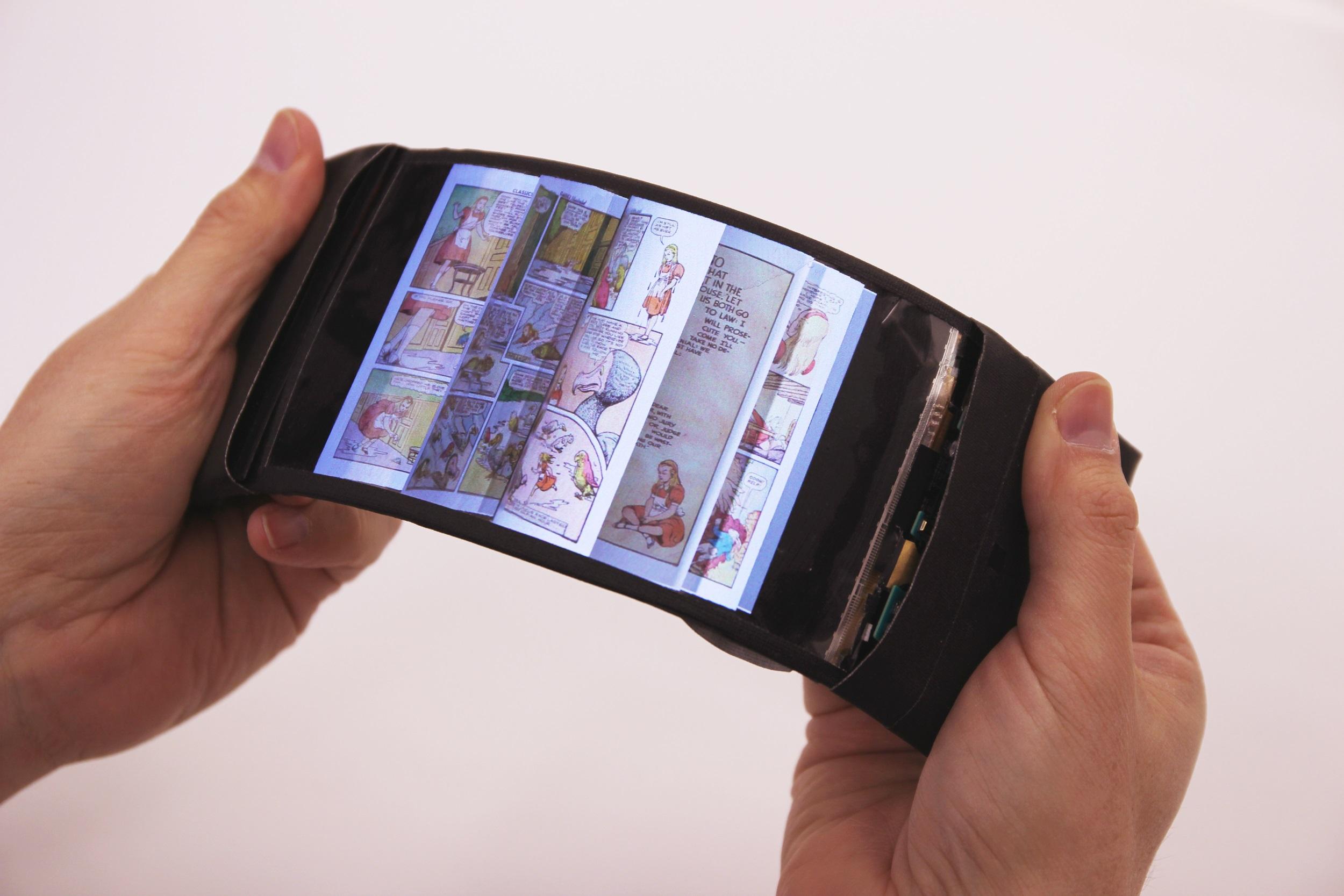 اولین موبایلهای منعطف در سال ۲۰۱۸ وارد تولید انبوه خواهند شد