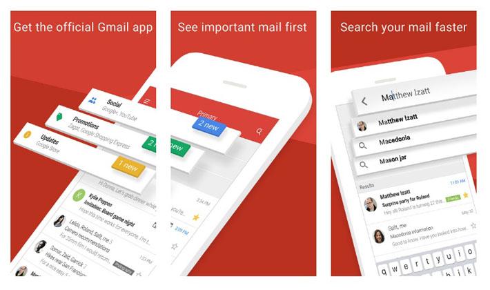 ارائه برنامه جیمیل جدید برای iOS ؛ متفاوت و جالب ..!