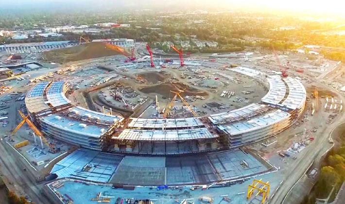 روند پیشرفت ساختمان اپل، spaceship !