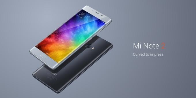 شیائومی : منتظر نسخه Flat صفحه نمایش گوشی Mi Note 2 نباشید