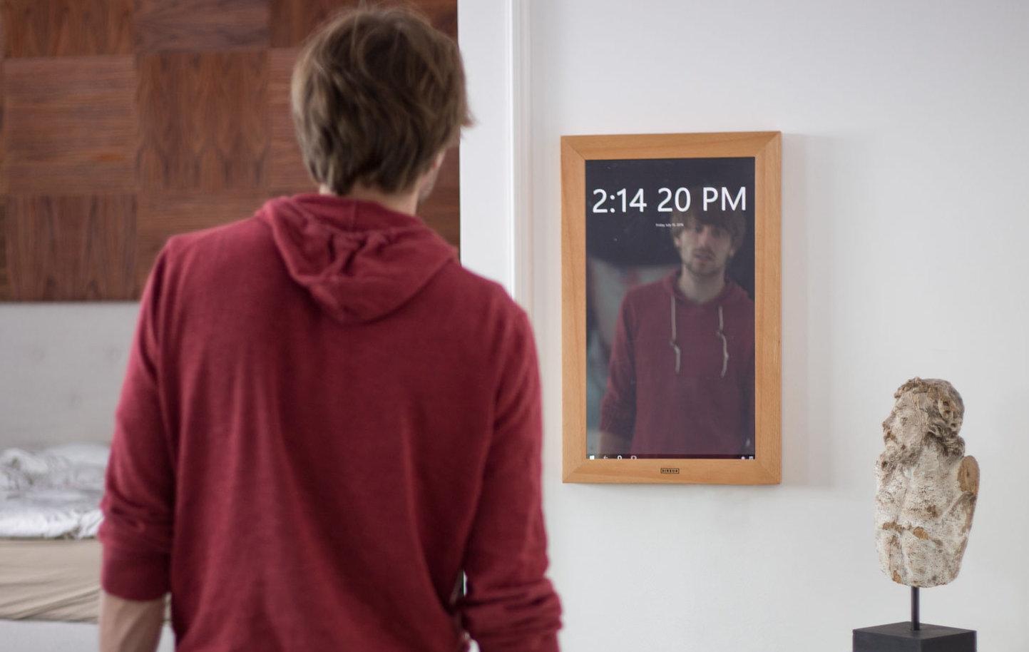 آینه دیجیتالی مجهز به ویندوز ۱۰ هم به بازار آمد!