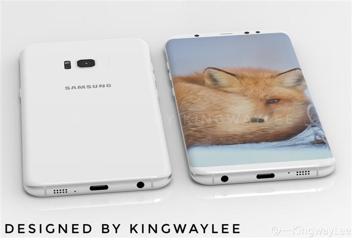 تصویر مفهومی جدید گلکسی S8: تلاشی برای چشمگیر شدن و قانعکننده بودن