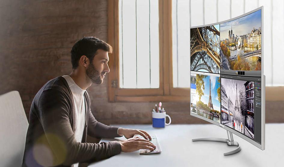 فیلیپس بزرگترین صفحه نمایش ۴K منحنی جهان را ساخت