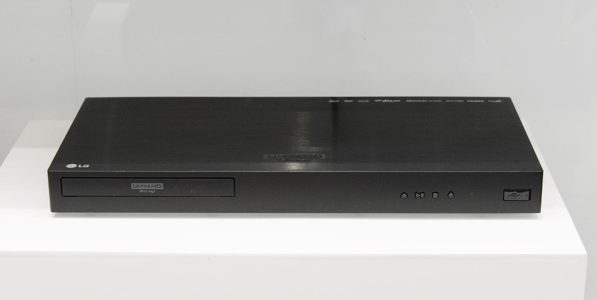 الجی و  Dolby Laboratories از پخشکننده بلوری جدیدی با قابیلت پشتیبانی ازDOLBY VISION  و کیفیت تصویر ۴K ULTRA HD در نمایشگاه رونمایی کردند