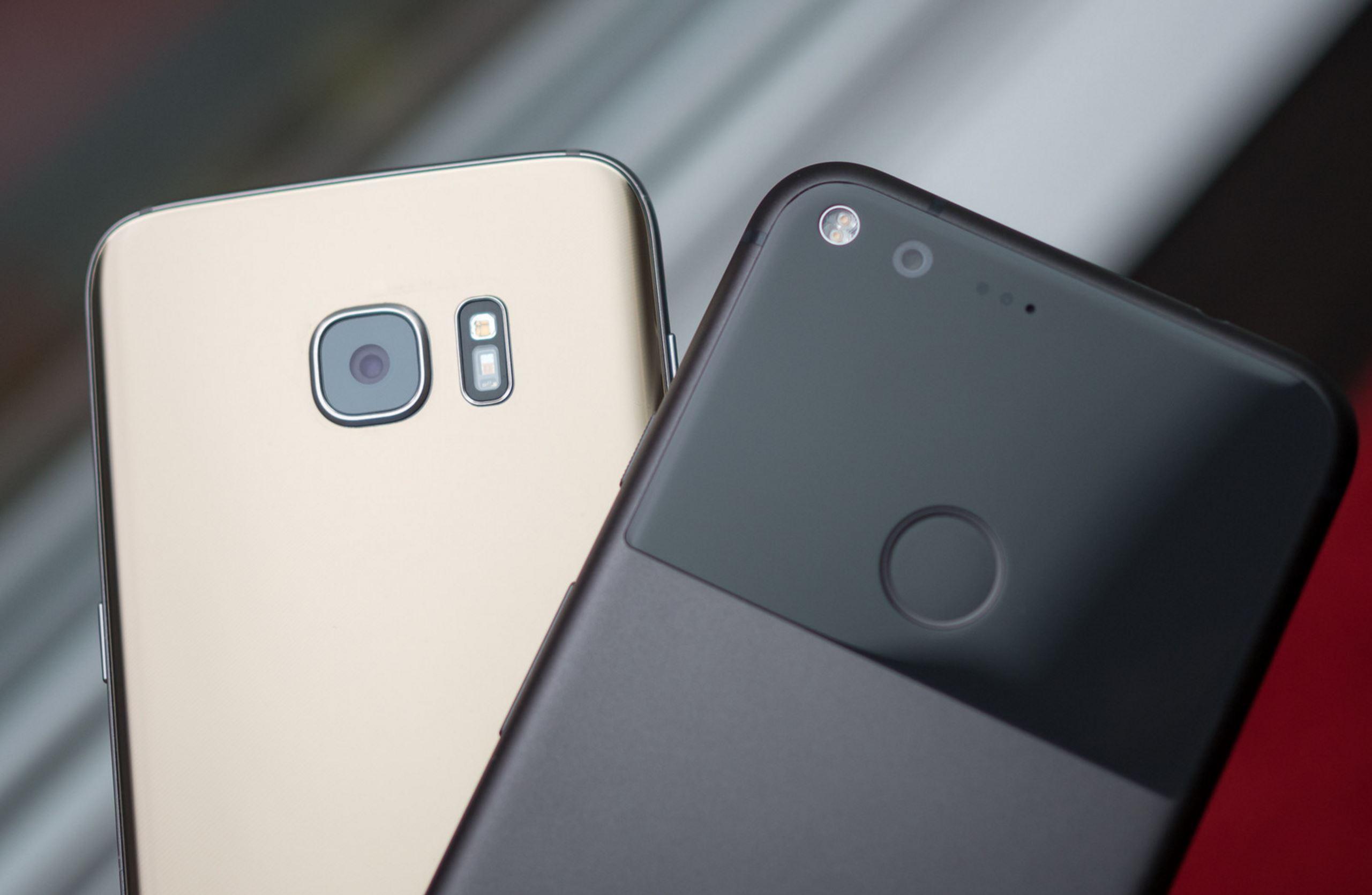گلکسی S7 edge  به ۷ دلیل از گوگل پیکسل XL برتر است