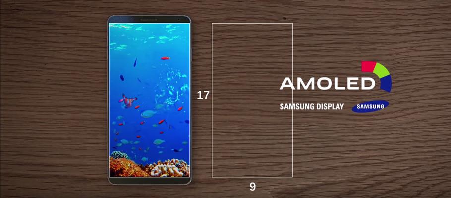 سامسونگ صفحه نمایش با نسبت ابعاد ۱۷:۹ برای گلکسی اس ۸ در نظر گرفته است؟