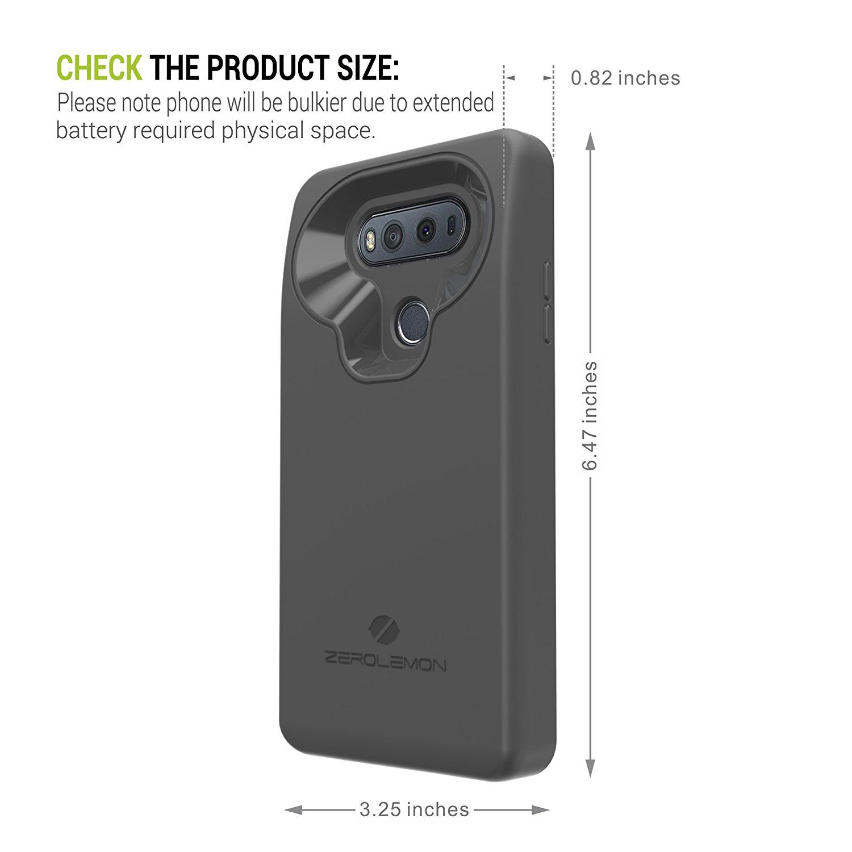 باتری کیس ۱۰ هزار میلیآمپر ساعتی زیرولمون برای گوشی LG V20!