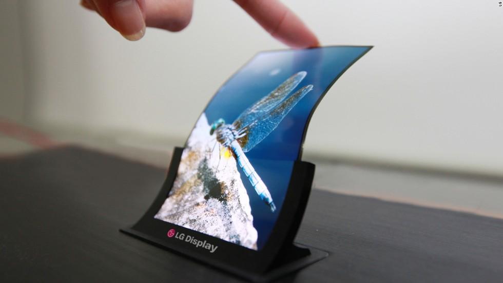 الجی پتنتی برای گوشی هوشمند با صفحه نمایش دو طرفه منتشر کرد