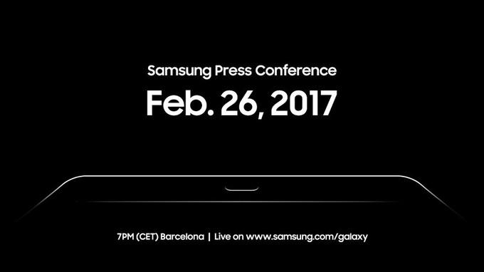اشتیاق سامسونگ برای رونمایی تبلت Galaxy Tab S3 در همایش جهانی موبایل