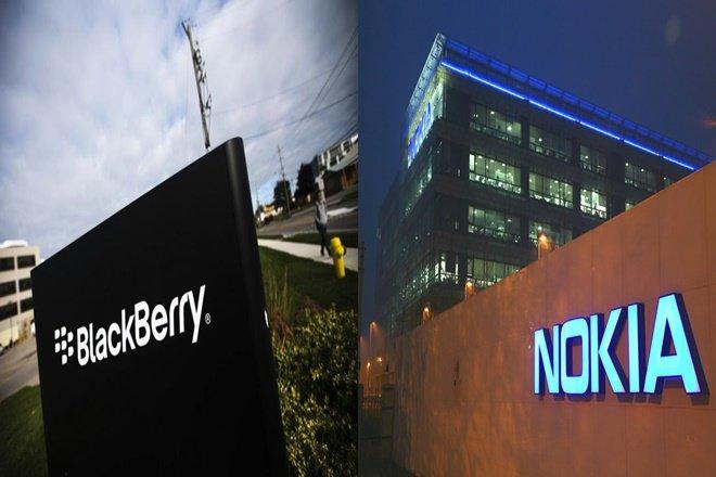 بلکبری از نوکیا به دلیل نقض حق ثبت اختراع شکایت کرد